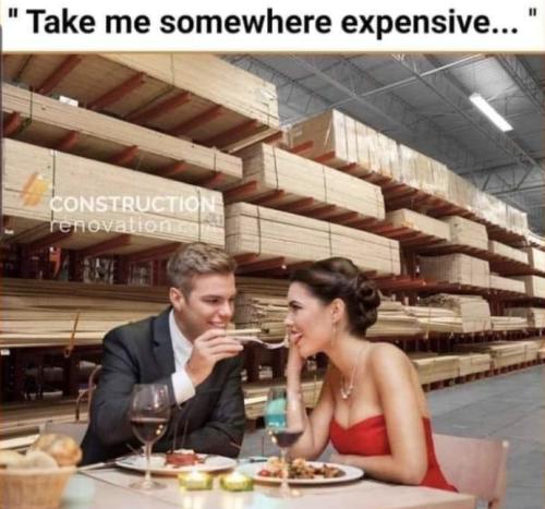 Lumber price meme